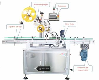 Top Sticker Tax Labeling Machine For Wine Bottle