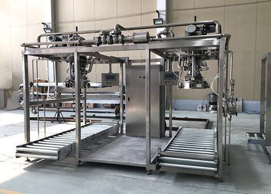 SUS304 Tomato Jam 2t/H Single Head Aseptic Bag Filler
