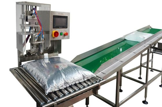 Semi Automatic 500L/H Honey Bag In Box Filling Machine 0.4KW