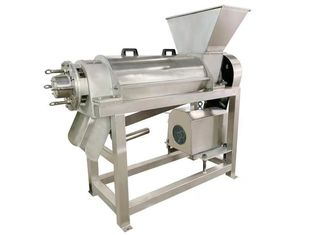 11KW SUS304 Blueberry Spiral Juicing Machine 2T/H
